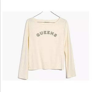 Madewell Queens Boxed Crop Shirt